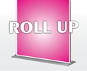 Roll-up-banner Kalkulator